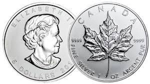 Win 1 oz Canadian Silver Maple Leaf Coin